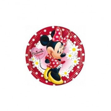 Platos fiesta Minnie Mouse