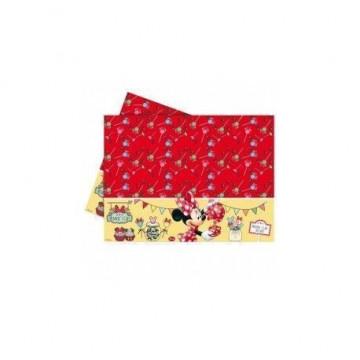 Mantel de plástico para fiesta Minnie Mouse Cupcake