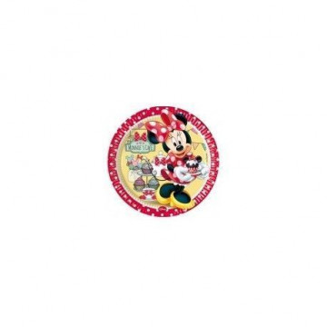 Platos fiesta Minnie Mouse Cupcake