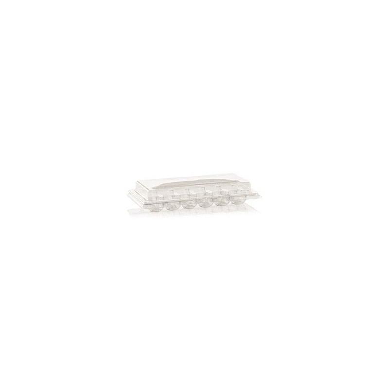 Caja transparente para 4 macarons [CLONE] [CLONE]