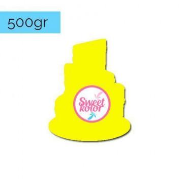 Fondant Amarillo limón 500 gr Sweet Kolor