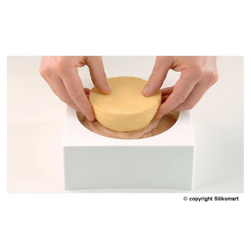 Molde de silicona redondo 13.5 cm Silikomart Professional [CLONE] [CLONE] [CLONE] [CLONE]