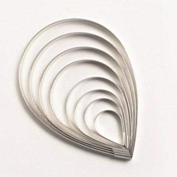 Cortanta pack 8 cortantes petalos Naomi Yamamoto Squires Kitchen