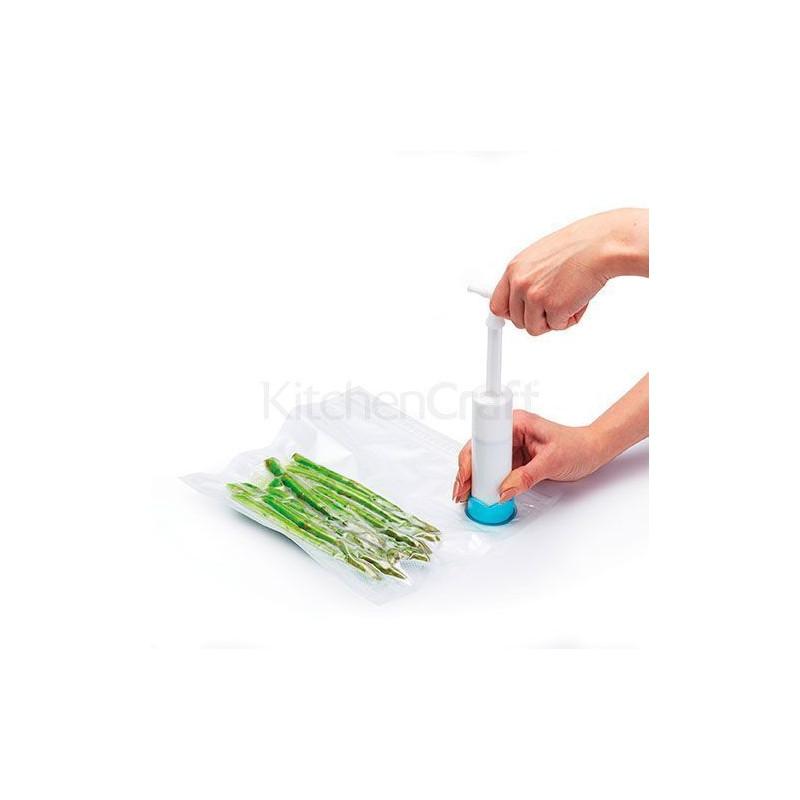 Sistema de envase al vacío manual Kitchen Craft