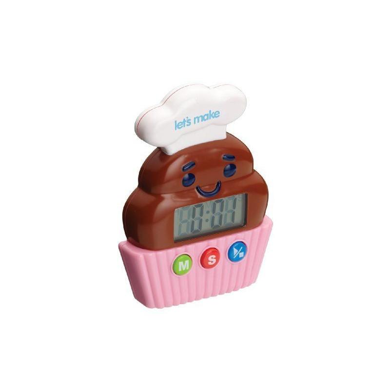 Reloj digital Cupcake