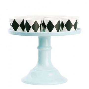 Cake Stand Cerámica 15.5 cm Turquesa [CLONE] [CLONE] [CLONE] [CLONE] [CLONE]
