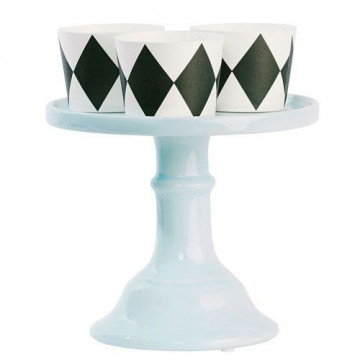 Cake Stand Cerámica 15.5 cm Turquesa [CLONE] [CLONE] [CLONE] [CLONE] [CLONE] [CLONE] [CLONE]