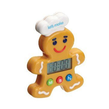 Reloj digital Gingerbread