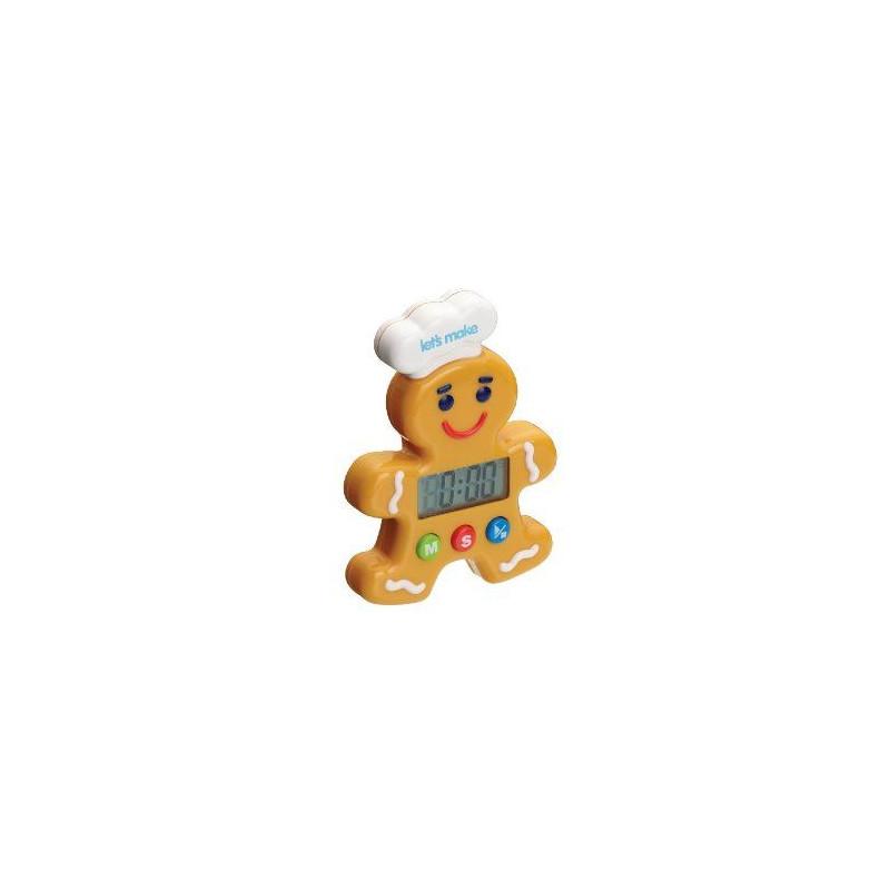 Reloj digital Gingerbread