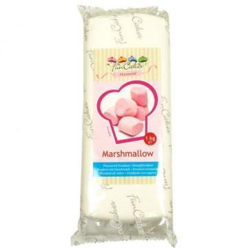 Fondant blanco Marshmallow Funcakes 1kg