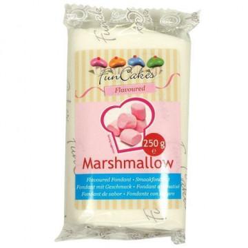 Fondant blanco Marshmallow Funcakes 250 gramos