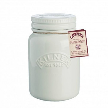 Tarro de cerámica crema Kilner [CLONE]