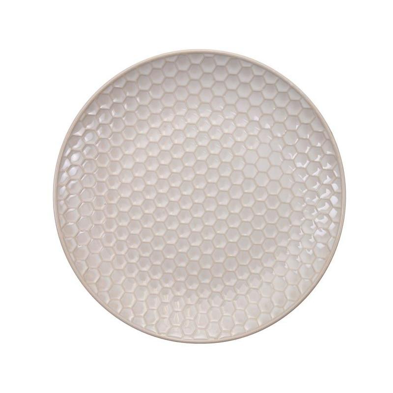 Plato de cerámica Olas Blanco y Azul Nippon Blue [CLONE] [CLONE] [CLONE] [CLONE]