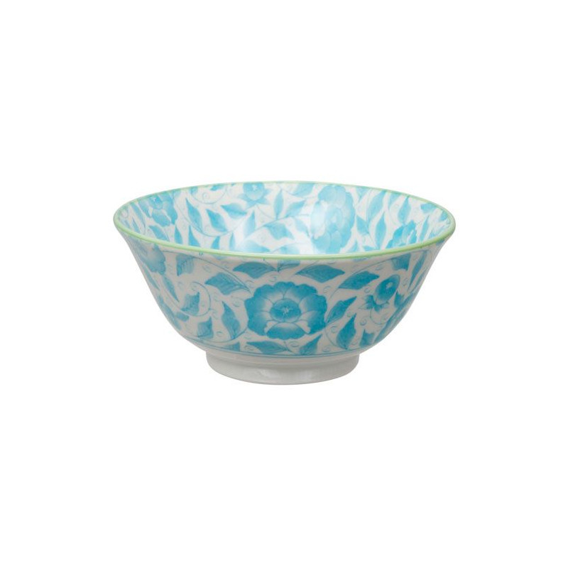 Bol de cerámica verde menta y gris Kasuri [CLONE] [CLONE]