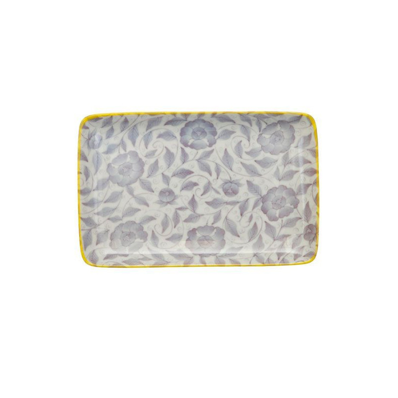 Bandeja de presentación rectangular flores azul Botanique [CLONE] [CLONE] [CLONE]