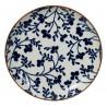 Bol de cerámica fondo blanco flores azul Fleur de Ligne [CLONE]