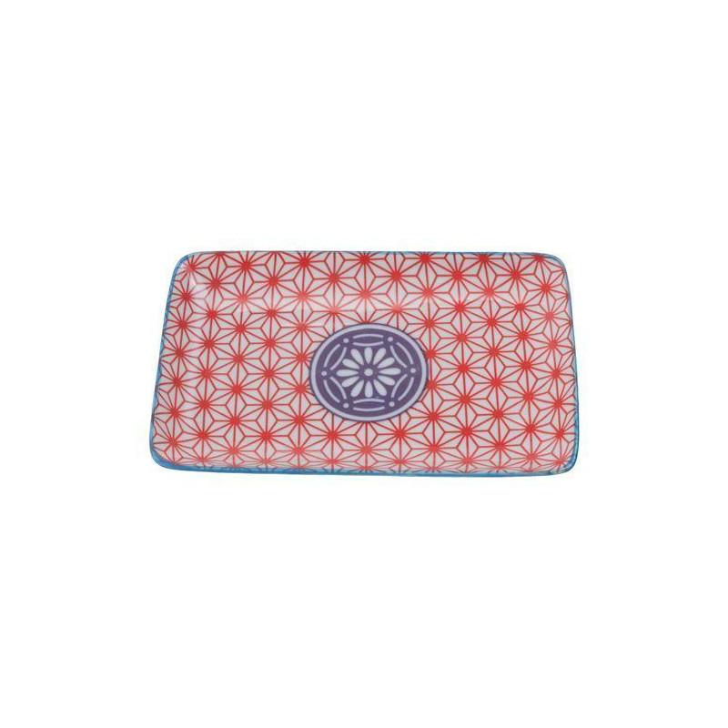 Bandeja de presentación rectangular flores azul Botanique [CLONE] [CLONE] [CLONE] [CLONE] [CLONE]