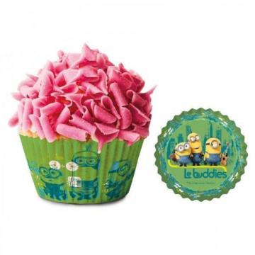 Cápsulas cupcakes Los Minions