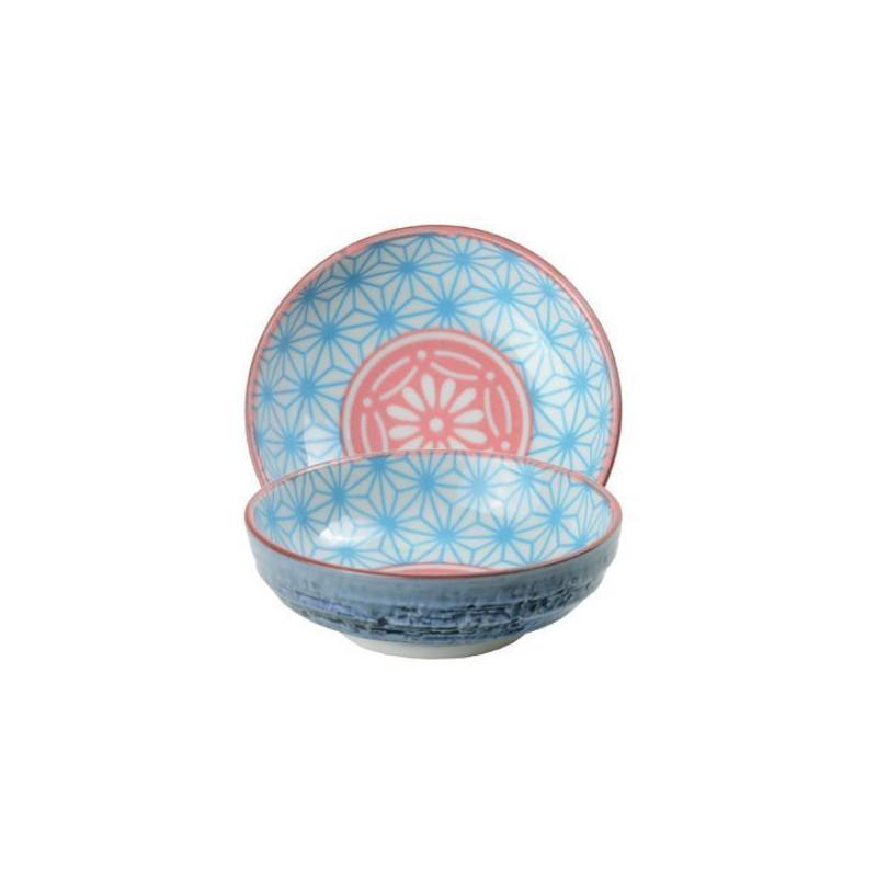 Bol de cerámica mini coral y amarillo Star Wave [CLONE] [CLONE] [CLONE]