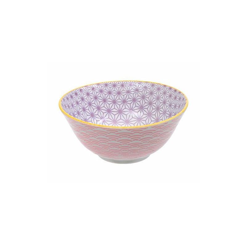 Bol de cerámica mini coral y amarillo Star Wave [CLONE] [CLONE] [CLONE] [CLONE] [CLONE]