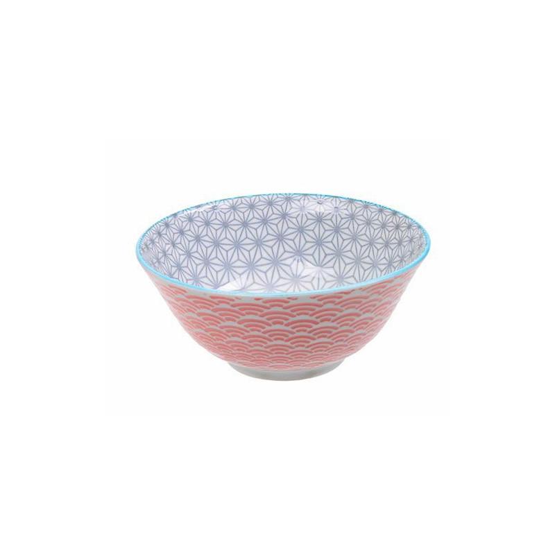 Bol de cerámica mini coral y amarillo Star Wave [CLONE] [CLONE] [CLONE] [CLONE] [CLONE] [CLONE]
