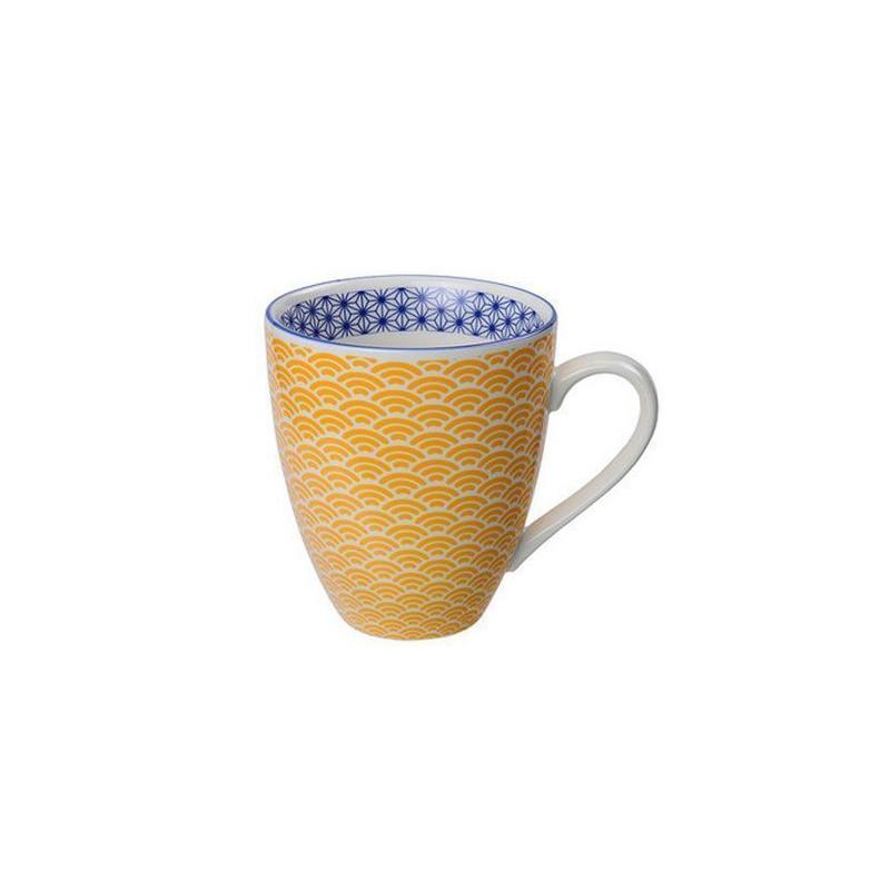 Tazón con asa flores mosaico azul Nippon blue [CLONE] [CLONE] [CLONE] [CLONE] [CLONE]