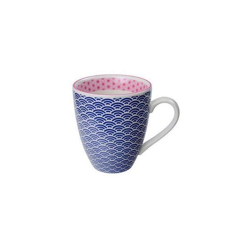 Tazón con asa flores mosaico azul Nippon blue [CLONE] [CLONE] [CLONE] [CLONE] [CLONE] [CLONE]