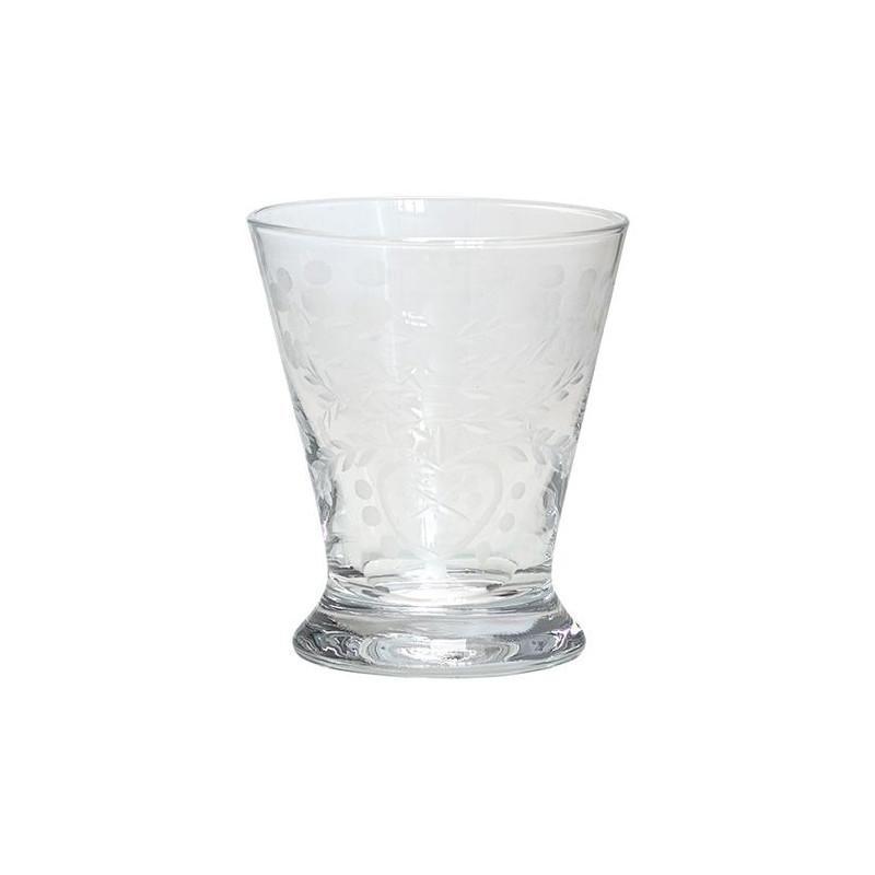 Vaso de cristal labrado Green Gate [CLONE]