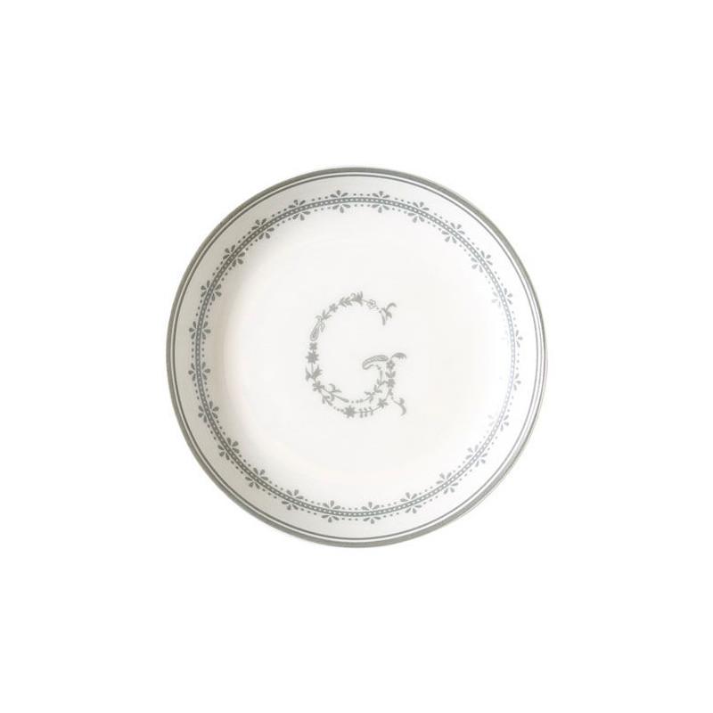 Plato de cerámica de postre Abelone gris Green Gate [CLONE] [CLONE] [CLONE] [CLONE] [CLONE] [CLONE]