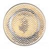 Plato de cerámica blanco y oro G Green Gate [CLONE] [CLONE]