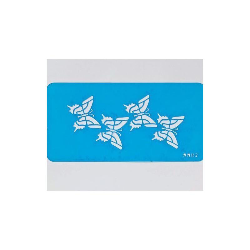 Stencils mariposas