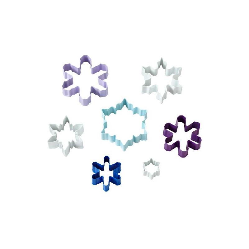 Cortante pack 7 cortantes copos de nieve Wilton