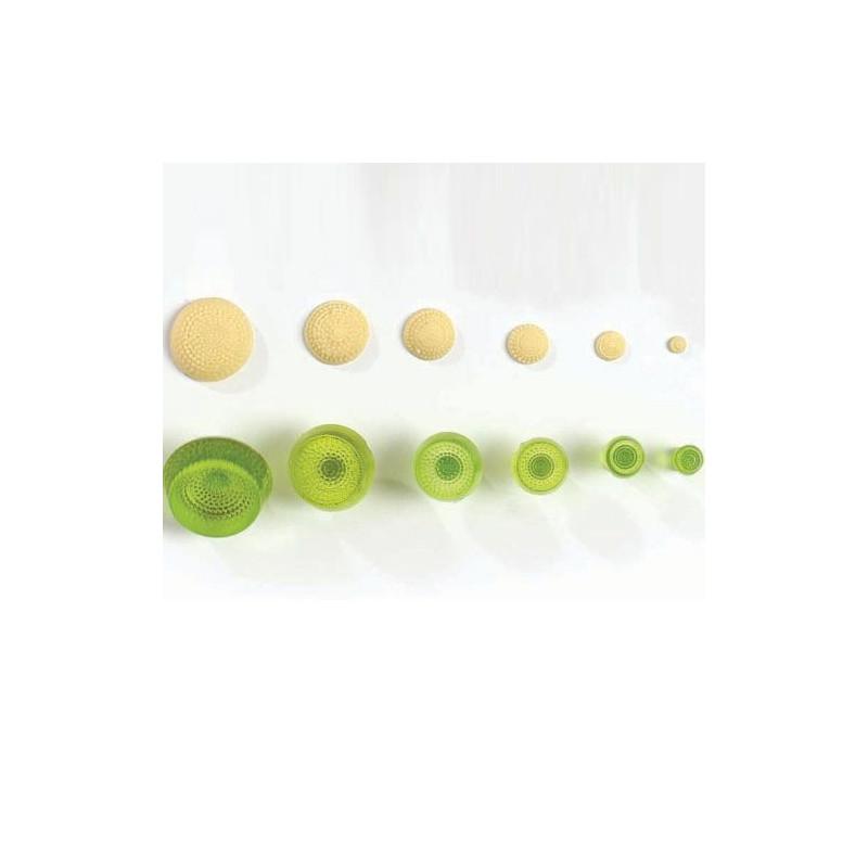 Centro para margarita, gerbera pack de 6 tamaños