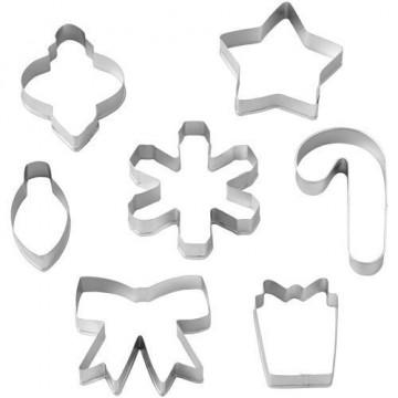 Cortante pack 7 cortantes copos de nieve Wilton [CLONE]