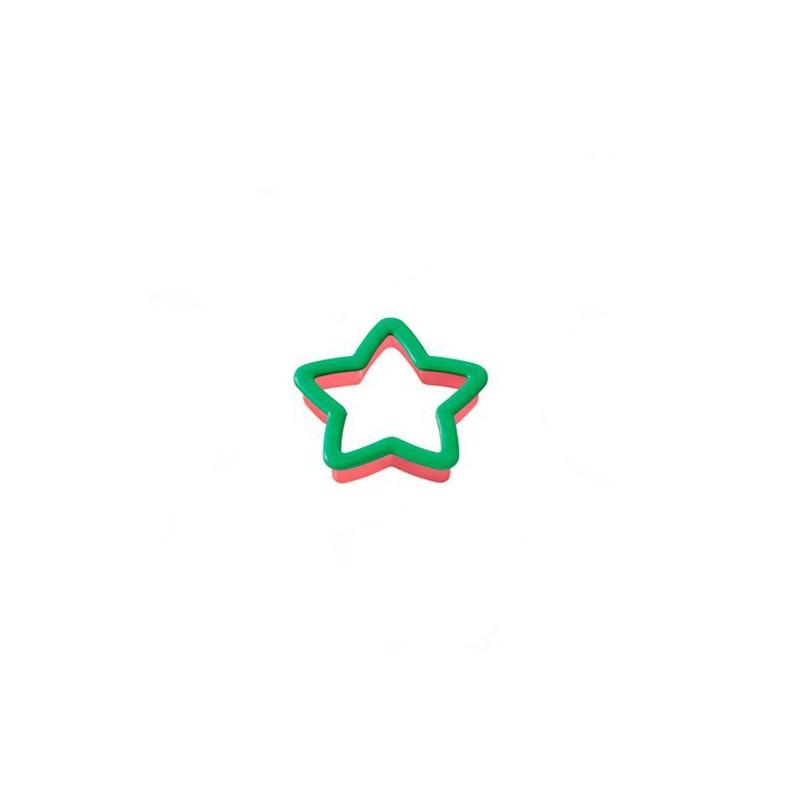 Cortante de galleta Estrella verde Wilton
