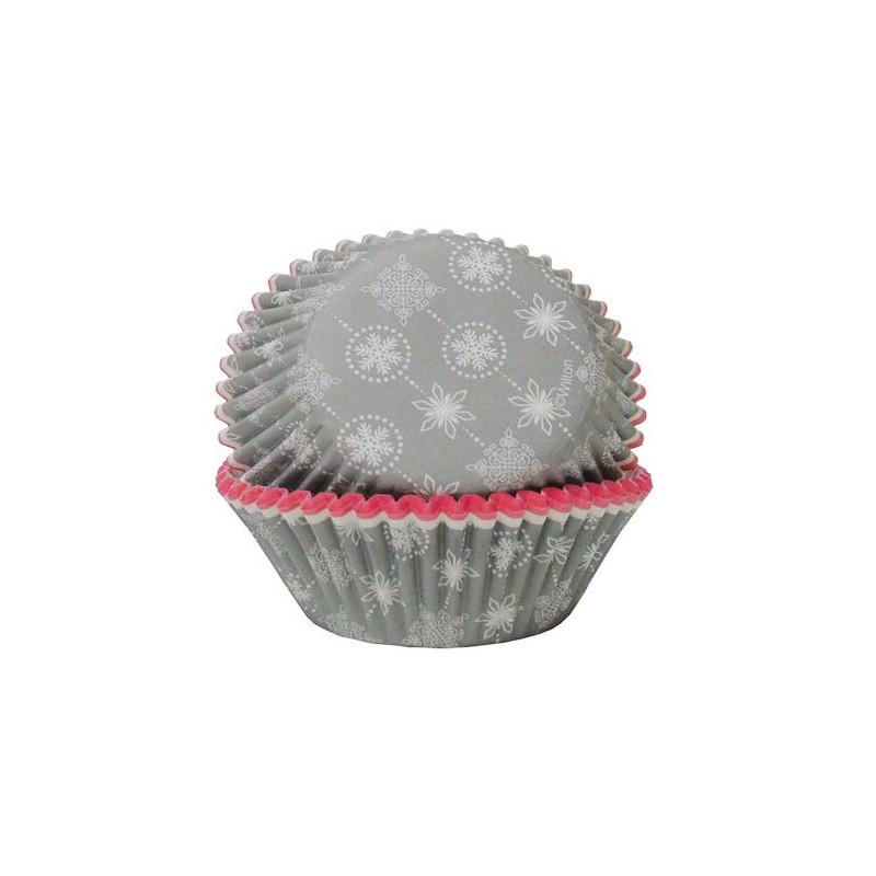 Cápsulas mini cupcakes copo de nieve Wilton [CLONE]