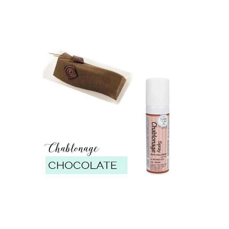 Spray efecto terciopelo Chablonage Chocolate Blanco Martellato [CLONE]