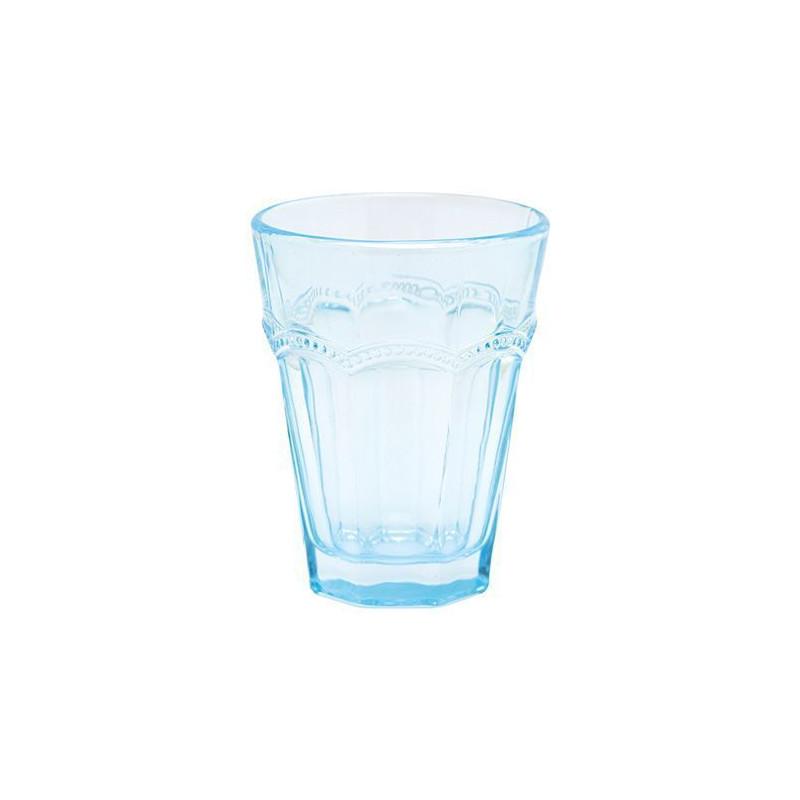 Vaso Cristal Traslucido Azul Green Gate [CLONE]