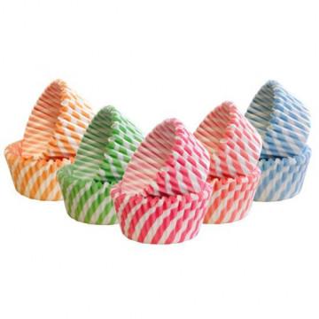 Cápsulas de cupcakes 90 unidades Rayas Squires Kitchen