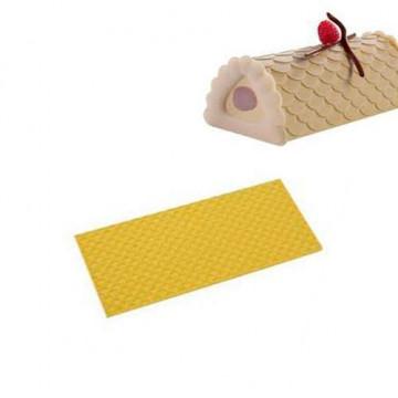 Plancha de silicona texturizadora Olas Martellato