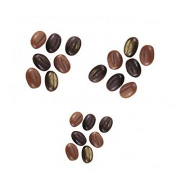 Molde de policarbonato para 130 mini bombones Granos de Café Martellato