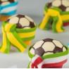 Molde de chocolate balón de Fútbol Martellato