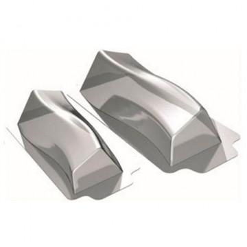 Pack 2 moldes de semifrio Tronco angulado Martellato