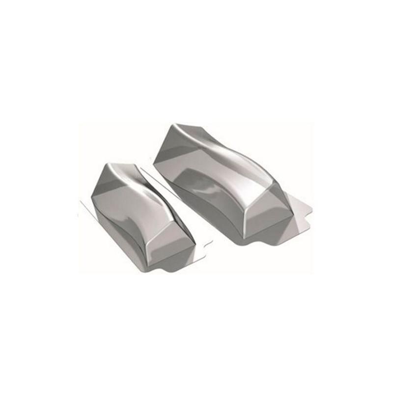 Pack 2 moldes de semifrio Oval Martellato [CLONE]