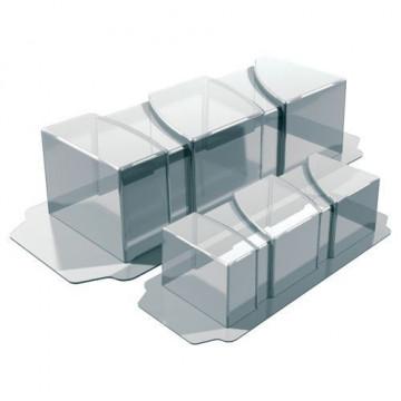 Pack 2 moldes de semifrio Oval Martellato [CLONE] [CLONE]