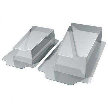 Pack 2 moldes de semifrio Oval Martellato [CLONE] [CLONE] [CLONE] [CLONE]