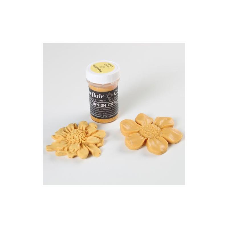Colorante en pasta Amarillo Crema Inglesa Sugarflair