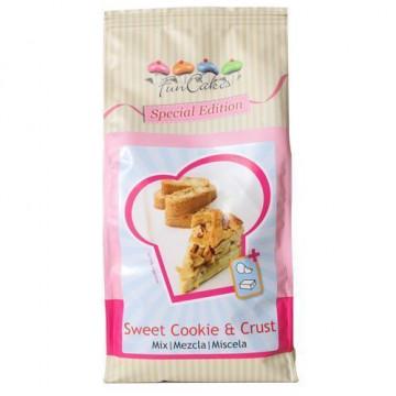 Preparado de base de tartaleta y galleta crujiente 500gr Funcakes