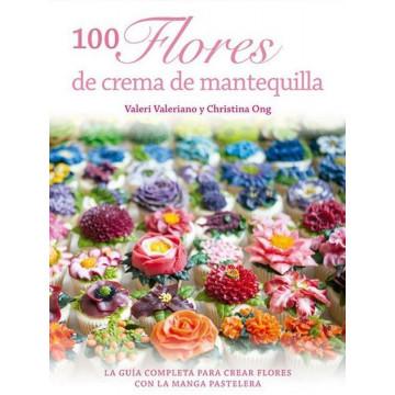 Libro 100 Flores de Mantequilla