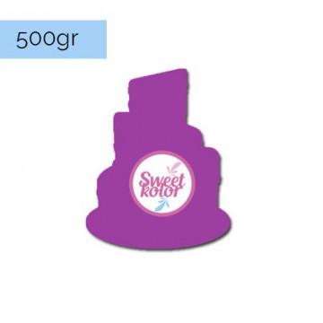 Fondant Púrpura 500 gr Sweet Kolor